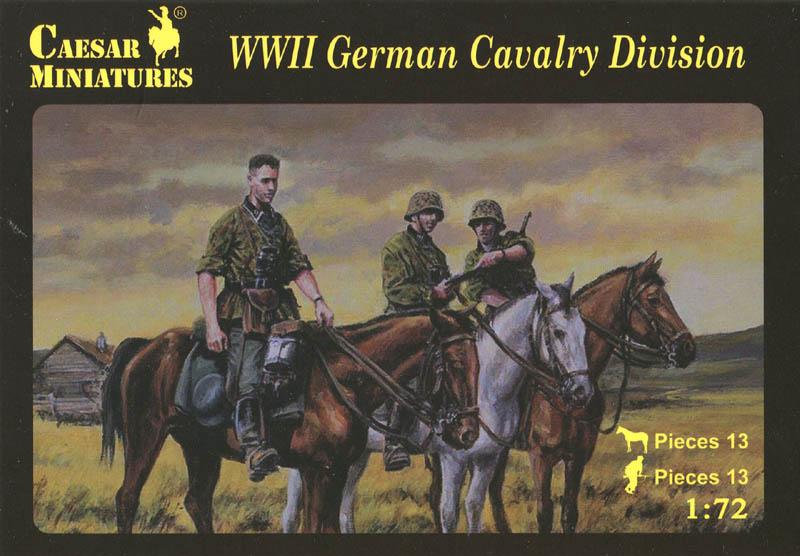 1:72 WWII German Cavalry Division Caesar Miniatures