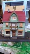 Дом с мансардой и магазином Auhagen 12247